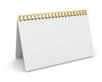 Blank desktop calendar Royalty Free Stock Photo