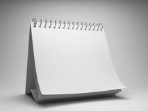 Blank desktop calendar. 3d illustration Stock Photo