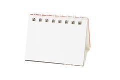 Blank desktop calendar Royalty Free Stock Image