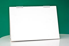 Blank desktop calendar Stock Photography