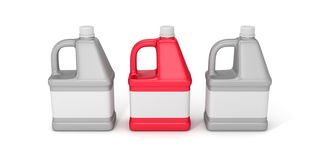 Blank detergent bottle Royalty Free Stock Image