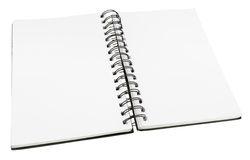 Blank Diary Stock Photography