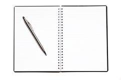 Blank diary Royalty Free Stock Photography