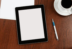 Blank digital tablet Stock Photo
