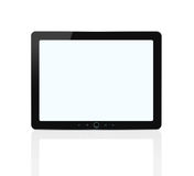 Blank digital tablet with clipping path royalty free illustration