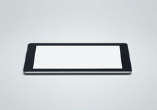 Blank digital tablet with clipping path Stock Photo