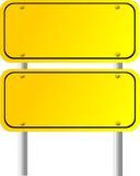 Blank Directional Sign 5 Stock Photos