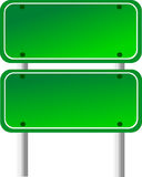 Blank Directional Sign 6 Royalty Free Stock Photo