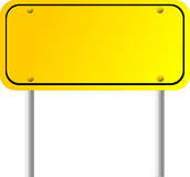 Blank Directional Sign Royalty Free Stock Images