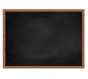 Blank dirty school board. Royalty Free Stock Photography
