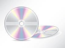 Blank discs Stock Photo