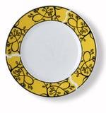 Blank dish Royalty Free Stock Photo