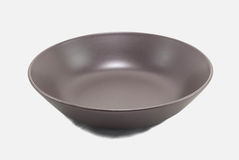 Blank Dish. Isolated in white background with clipping path Stock Photo