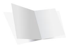 Blank double sheets Stock Photos