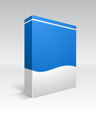Blank dvd box on background Royalty Free Stock Photography