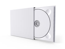 Blank DVD case and disc Stock Photography