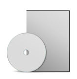 Blank DVD case Royalty Free Stock Photos