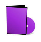 Blank DVD case Stock Photography