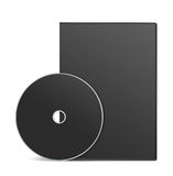 Blank DVD case Royalty Free Stock Image