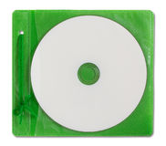 Blank DVD case and disc Stock Photo