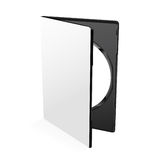 Blank Dvd Case Vector Royalty Free Stock Image