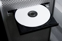 Blank dvd cd hd bluray Stock Images