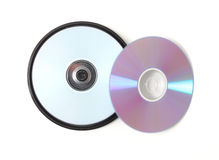 Blank dvds Stock Images