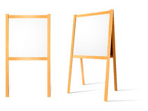 Blank Easels Royalty Free Stock Images