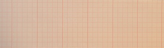 Blank ecg Electrocardiogram Royalty Free Stock Images