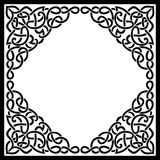 Blank Elegant Celtic Background Royalty Free Stock Image
