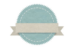 Blank emblem label ,paper design for web ,Stickers, Tags Stock Image