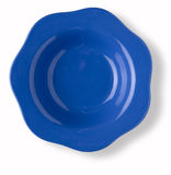 Blank and empty blue dish Royalty Free Stock Photo