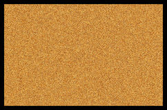 Blank Empty Cork Bulletin Board or Background Royalty Free Stock Photo
