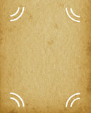 Blank Empty Grunge Vintage Album Textured Page Background, Old Aged Stained Texture, Vertical Photo Portfolio Beige Sepia Isolated Royalty Free Stock Photo