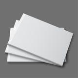 Blank empty magazine, album or book Royalty Free Stock Photography