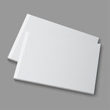 Blank empty magazine, album or book Royalty Free Stock Image