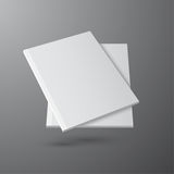 Blank empty magazine template Royalty Free Stock Images