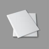 Blank empty magazine template Royalty Free Stock Photos