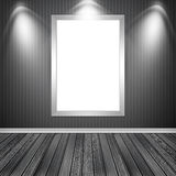 Blank empty white frame Royalty Free Stock Image