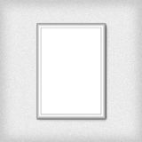Blank empty white frame. High resolution texture Royalty Free Stock Photo
