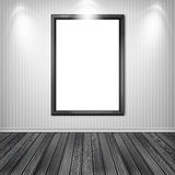 Blank empty white frame Royalty Free Stock Photo