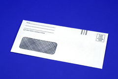 Blank Envelope Stock Photo