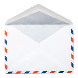 Blank Envelope with Clipping Path Stock Photography