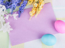 Blank Envelope Easter Decoration Stock Photos