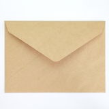 Blank envelope. Isolated on white background Stock Images