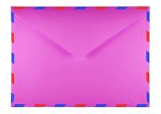 Blank envelope - pink Stock Photography