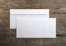 Blank envelopes Royalty Free Stock Photography