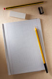 Blank Exercise Book Stock Photography