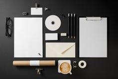 blank företags identitet arkivbild
