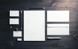 blank företags identitet arkivbilder